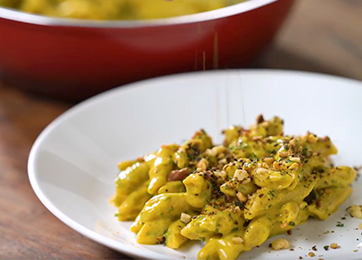 Mac and Cheese de abóbora: Brinox + Tastemade