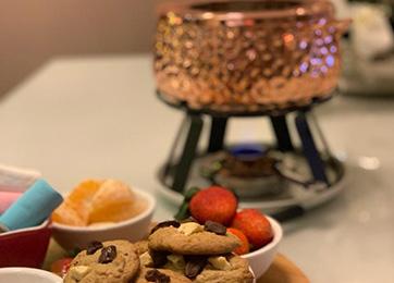 Reinvente o clássico: fondue de caramelo do chef Fredi Fontana